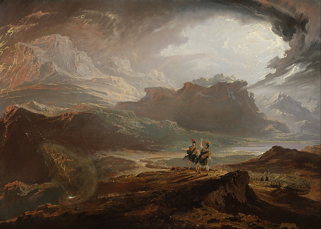 Macbeth - John Martin - WikiArt.org - encyclopedia of ...