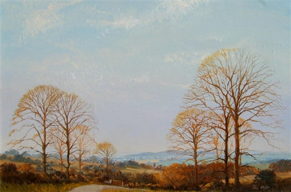 Autumn Trees - John Miller