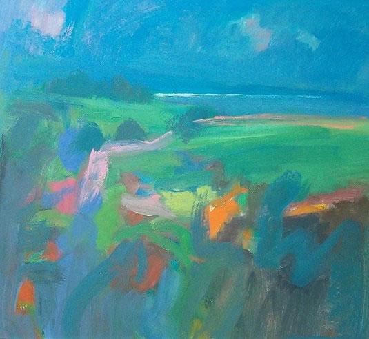 Late Summer Landscape - John Miller