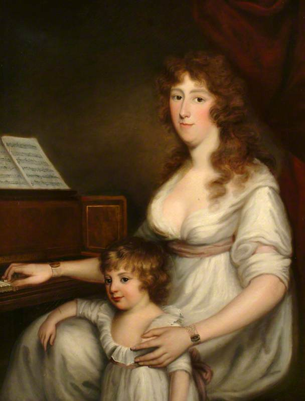 Portrait of a Lady with Her Child, 1798
