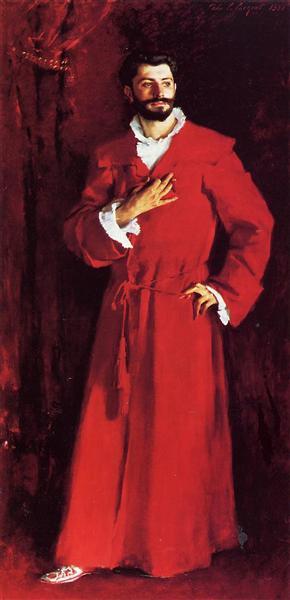 Dr. Pozzi at Home, 1881 - John Singer Sargent