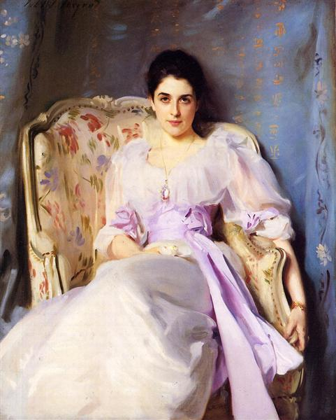 Lady Agnew of Lochnaw - Sargent John Singer