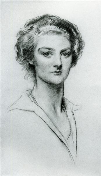 Miss Elizabeth Williamson, 1925 - John Singer Sargent