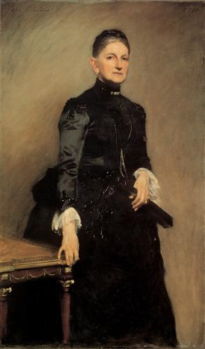 Mrs Adrian Iselin - John Singer Sargent