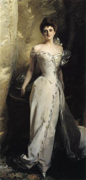 Mrs. Ralph Curtis - Sargent John Singer