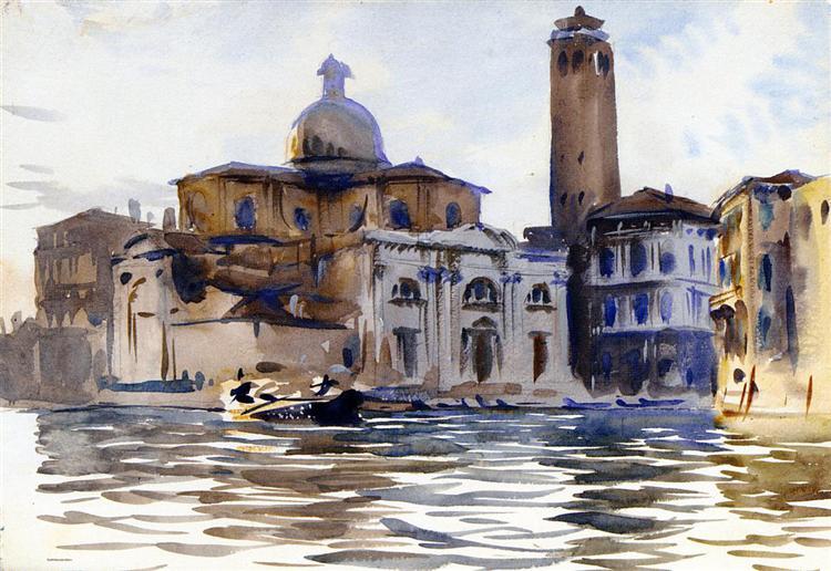 Palazzo Labbia, Venice, c.1913 - John Singer Sargent