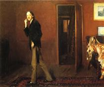 Robert Louis Stevenson and his wife - John Singer Sargent