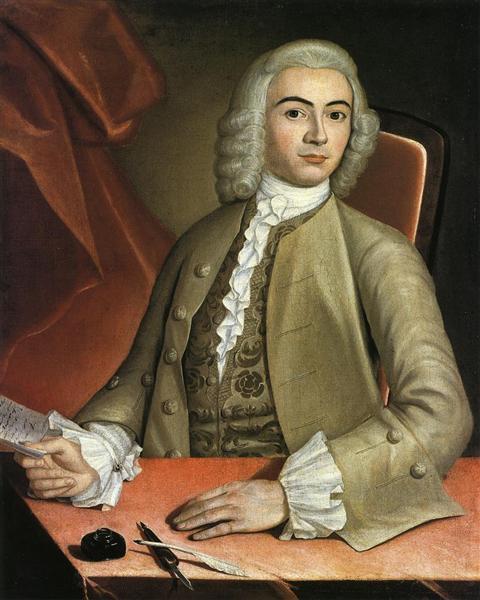 Charles Pelham, c.1753 - 1754 - John Singleton Copley