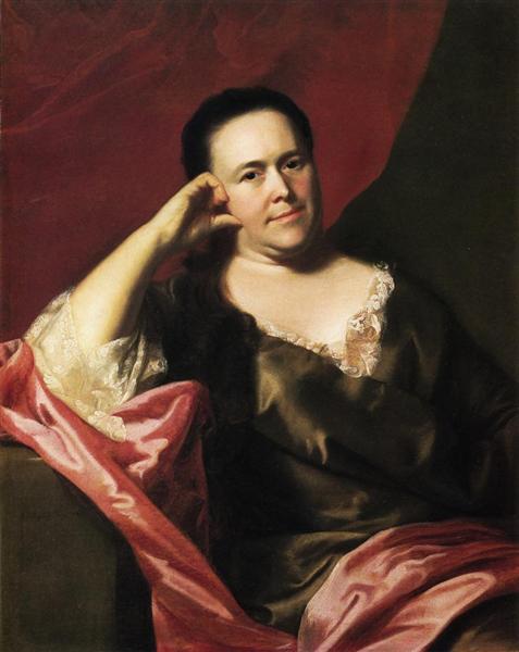 Mrs.John Scoally (Mercy Greenleaf), 1763 - John Singleton Copley