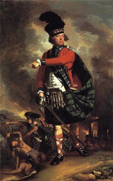 Portrait of Hugh Montgomerie, 12th Earl of Eglinton, 1780 - John Singleton Copley