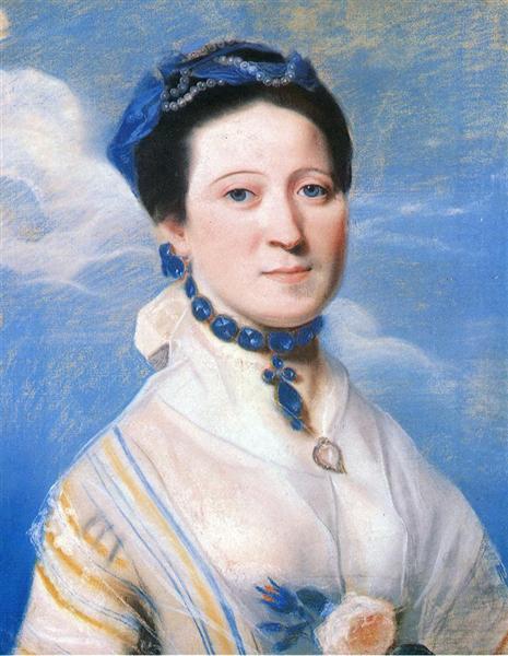 Portrait of Mrs. George Turner, c.1767 - John Singleton Copley