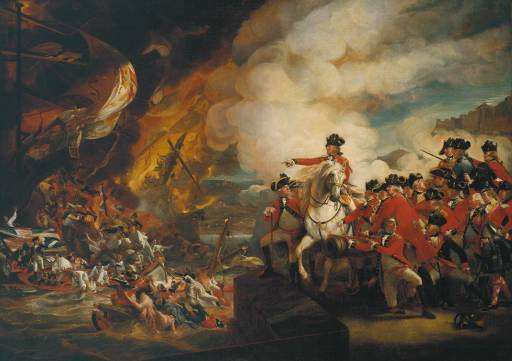 The Siege and Relief of Gibraltar, 1783 - John Singleton Copley