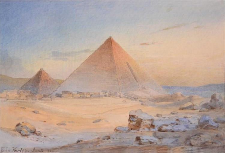 The Pyramids, 1882 - John Varley II