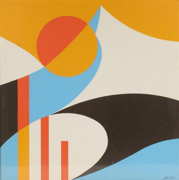 Abstract Design, 1972 - John Vassos