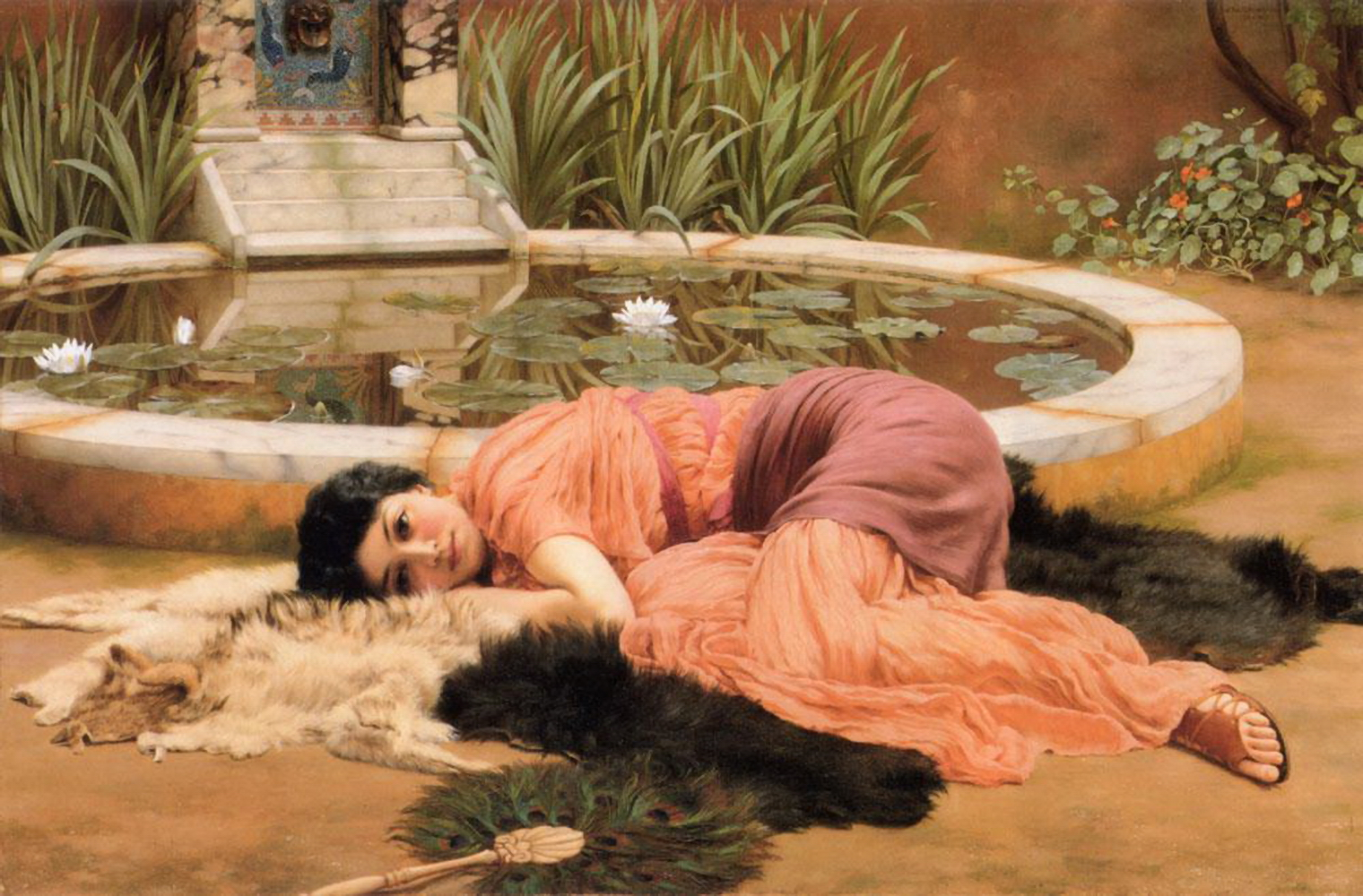John William Godward - Page 2 Dolce-far-niente-1904