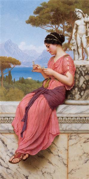 The Love Letter, 1913 - John William Godward