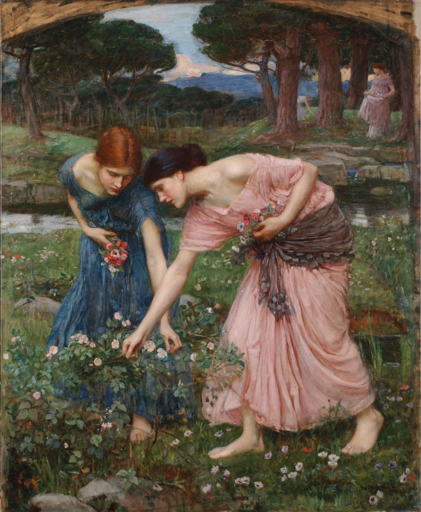 gather ye rosebuds while ye may 1909   john william