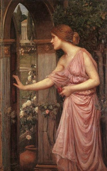 Psyche entering Cupid's Garden, 1903 - John William Waterhouse