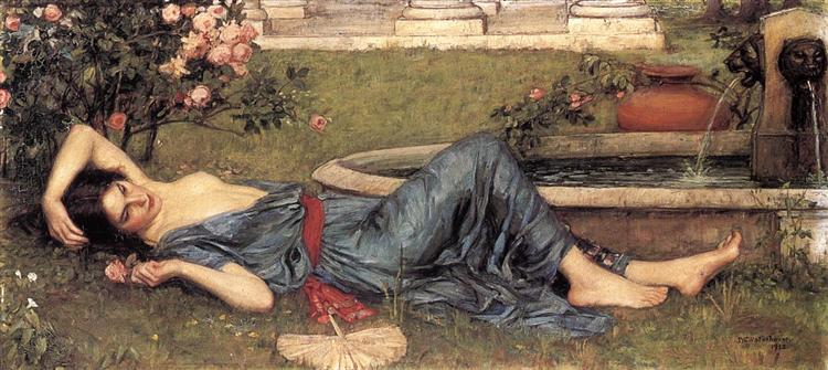 Sweet Summer, 1912 - John William Waterhouse