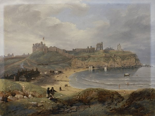 Prior's Haven, Tynemouth, 1845 - John Wilson Carmichael
