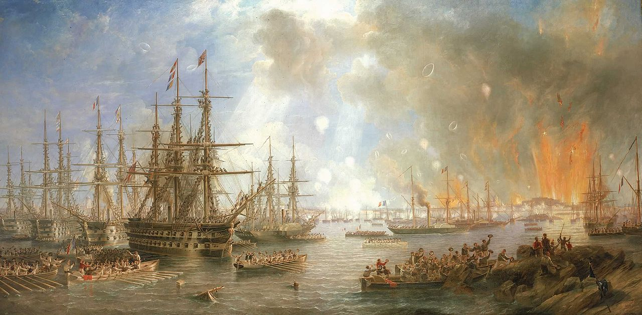 The Bombardment of Sveaborg, 9 August 1855, 1855