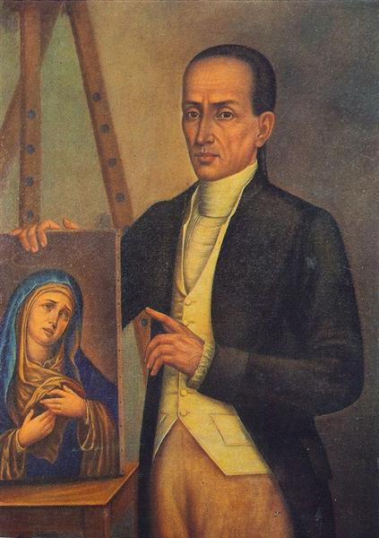 Self-portrait, 1800 - José Campeche
