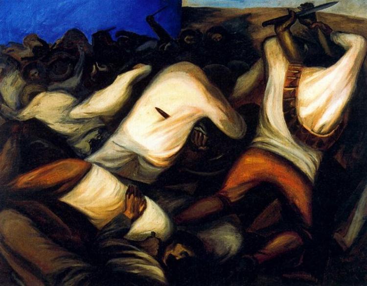 Combat, 1927 - José Clemente Orozco