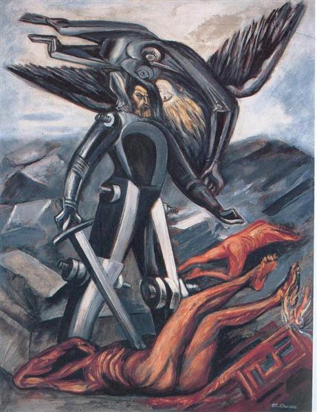 La Conquete - Jose Clemente Orozco