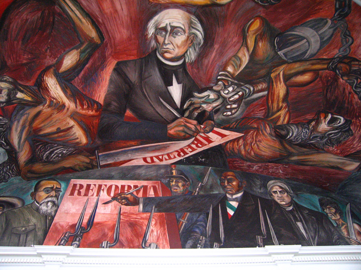 The great mexican revolutionary law and the freedom of slaves, 1949 - Jose Clemente Orozco