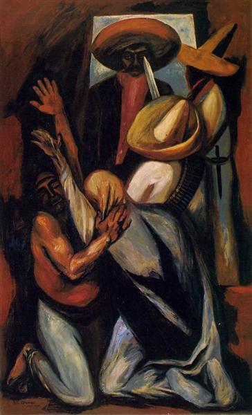 Zapata, 1930 - Хосе Клементе Ороско