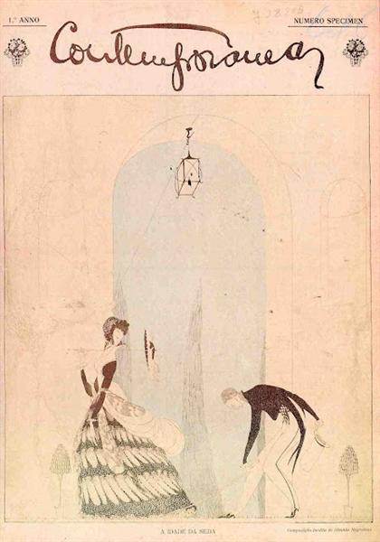 Capa da Revista Contemporânea, 1915 - Jose de Almada-Negreiros