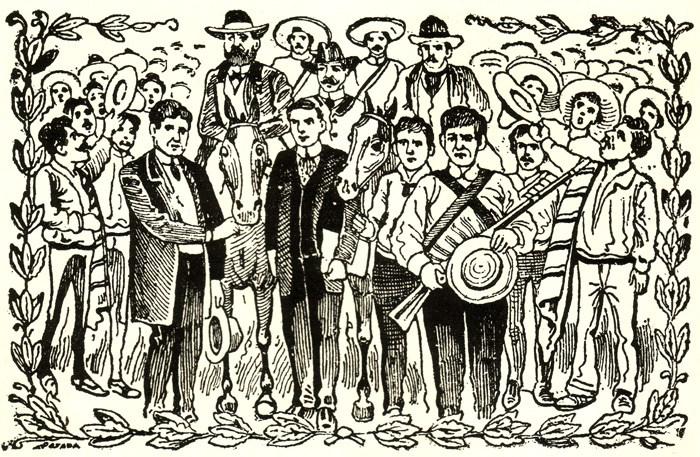 La gloriosa campaña de madero - José Guadalupe Posada
