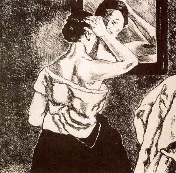 Woman in the Mirror, 1935 - Jose Gutierrez Solana