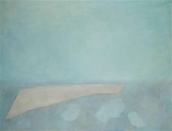 Paysage bleu gris horizontal, 1960 - Йозеф Шима