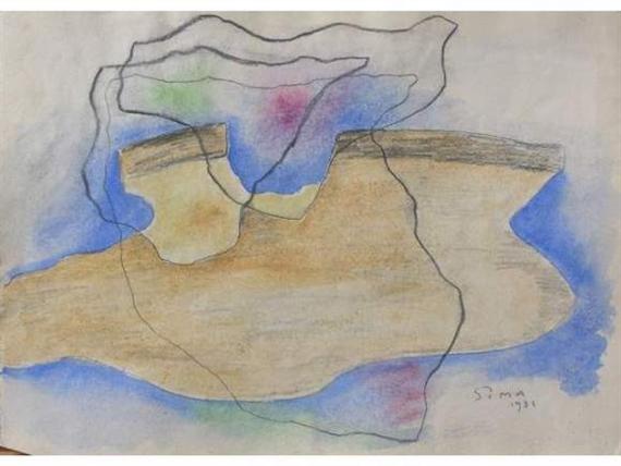 Paysage surréaliste, 1931 - Joseph Sima