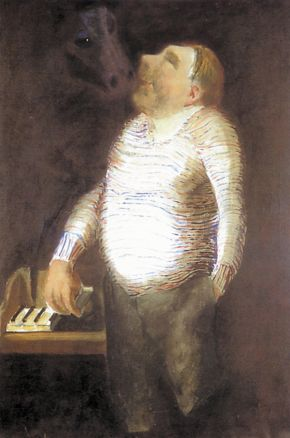 Portrait of Vítězslav Nezval, 1932 - Josef Sima