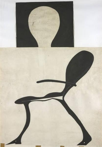 Brightly-Lit Stag Chair, 1957 - 1971 - Joseph Beuys