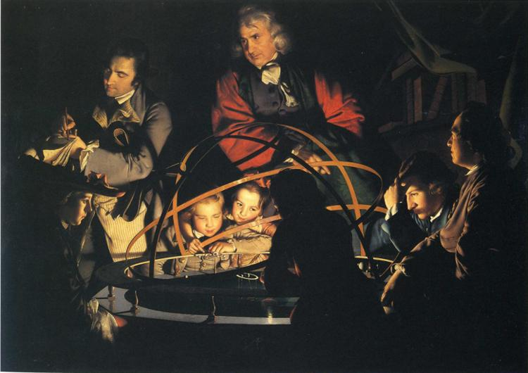 wrights the orrery essay Joseph wright of derby (1734-97): biography of english genre painter noted for tenebrism and chiaroscuro joseph wright of derby english painter famous for use of tenebrism/chiaroscuro.