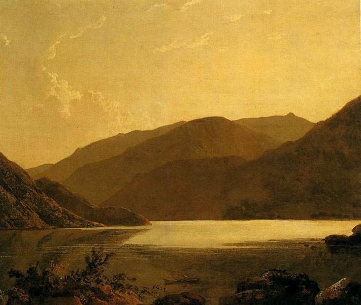 Ullswater, c.1795 - Joseph Wright