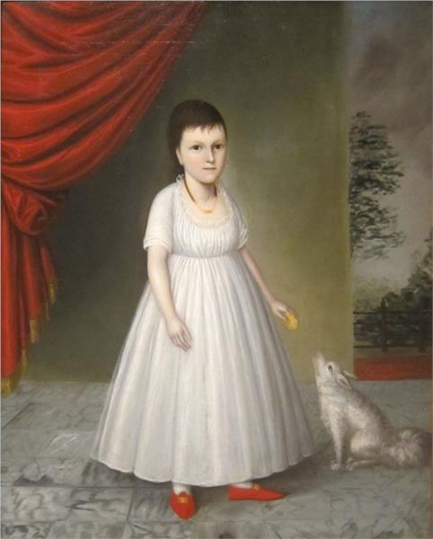 Letitia Grace McCurdy, 1802 - Joshua Johnson