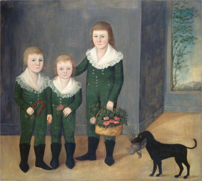 The Westwood Children, 1807 - Joshua Johnson