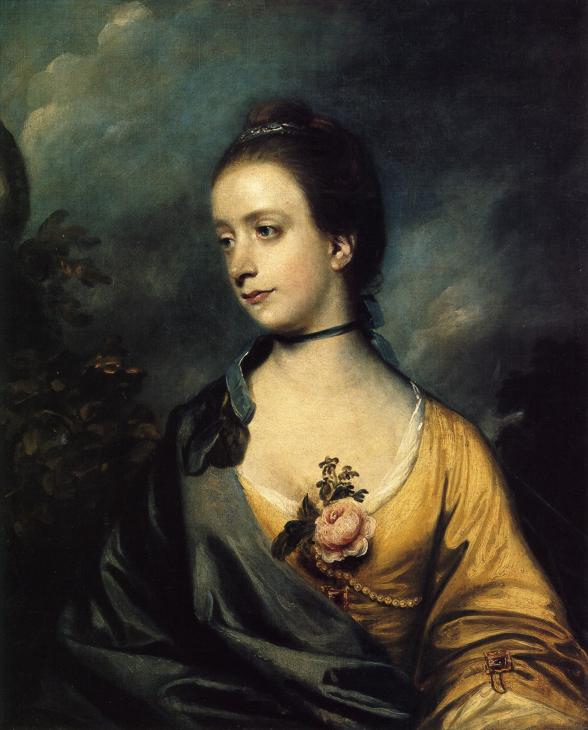 peintres anglais du XVIIIème siècle Miss-isabella-thorold-1759