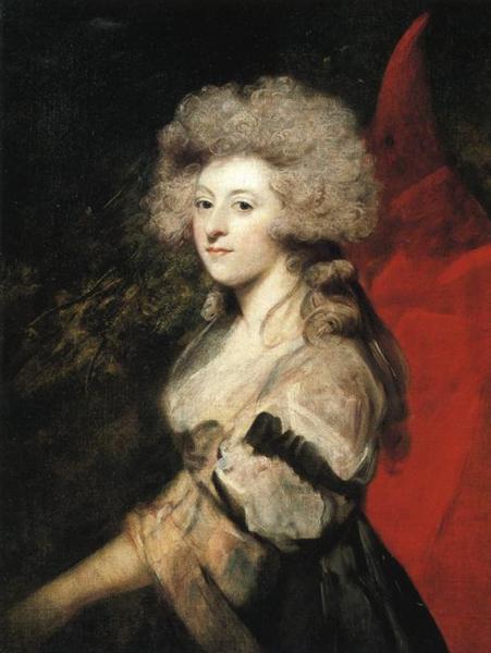 Portrait of Maria Anne Fitzherbert, 1788 - Joshua Reynolds