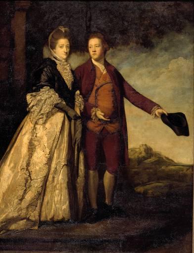 Sir Watkin Williams-Wynn and his Mother - Joshua Reynolds