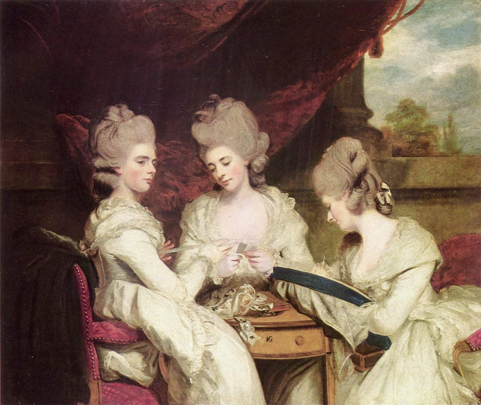 The Ladies Waldegrave - Joshua Reynolds - WikiArt.org