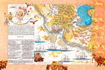 Boys' Art #7: British Fleet, Falkland Islands - Joyce Kozloff