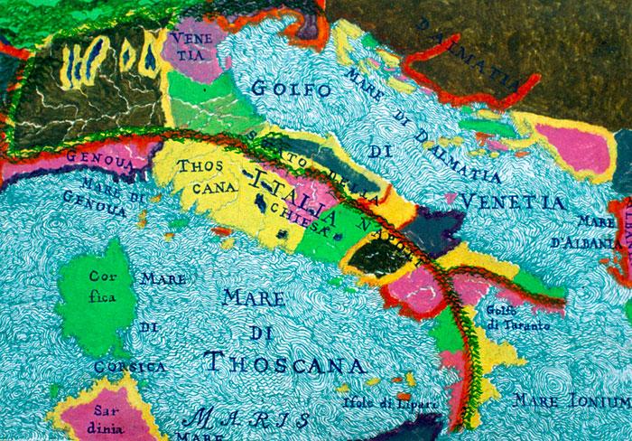 Italy and the Balkans #7, 1999 - Joyce Kozloff