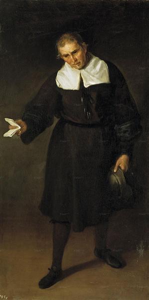 Bufón Francisco Bazán, 1684 - Juan Carreno de Miranda