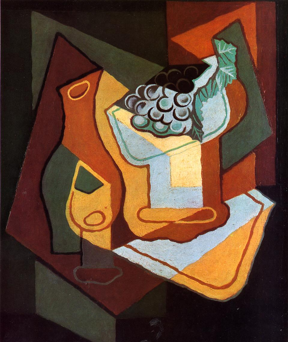 Juan Gris Fruit Paintings