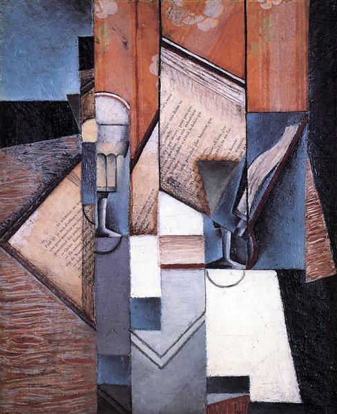 The Book, 1913 - Juan Gris